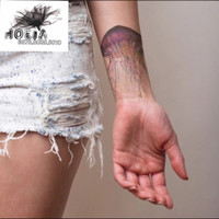 Jual Temporary Tattoo Small - Tato Black and White - tato Gray HOEIA Murah