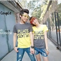 Promo [Cp T-Shirt Levis Turkis CL] pakaian couple cotton combed turkis