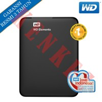 "WD Elements Hardisk Eksternal 1TB 2.5"" USB3.0 - Hitam"