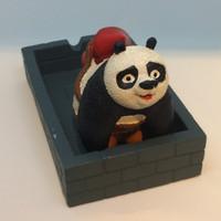 Jual Barang Unik Asbak Lucu Kung Fu Panda AB09 Murah