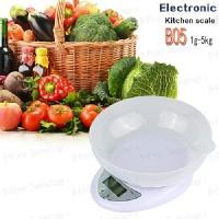 harga Timbangan Dapur Kue Digital Bonus Mangkok B05 Kitchen Scale 5kg 1gram Tokopedia.com