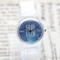 Jual Jam Tangan Korea MiNi Watch -Good Luck Jam tangan Fashion Transparan Murah