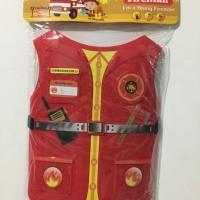 Mainan Anak Laki-Laki Tameng Firefighter Pemadam Kebakaran Set