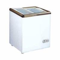 Gea Sliding Flat Glass Freezer Box SD-100 /Kulkas & Cooler Box MURAH