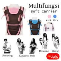 Jual Gendongan Bayi Multifungsi Ransel Soft Carrier (Baby Carrier 4 in 1) Murah