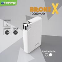 power bank hippo bronzx 10000mah powerbank original resmi
