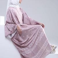 Jual Ria Miranda Adelle Kaftan Pink (BNWT) Satin Silk Exclusive Murah
