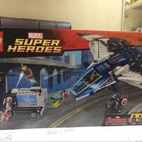 76032 Lego Avenger:The Avengers Quinjet City Chase