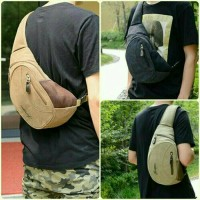 Jual tas slempang pria army slingbag impor tas selempang wanita import Murah