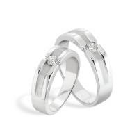 cincin palladium 50% pasangan untuk pernikahan atau lamaran