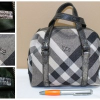 Tas branded BURBERRY LONDON BUR217 Handbag nova second bekas ori asli