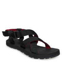 Sepatu Sandal Merah Hitam MOUNTAIN SLIPPERS 02 Greenlight