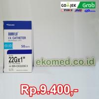 TERUMO Surflo IV Catheter No.22Gx1