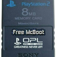 Memory Card PS2 Free McBoot + uLaunch
