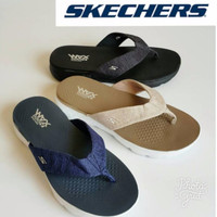 harga (garansi Termurah) Sandal Jepit Pria Skechers Vivacity  Original Tokopedia.com