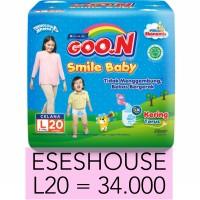 GOON Smile Baby L20 L 20 Pants Diaper Diapers Celana Termurah