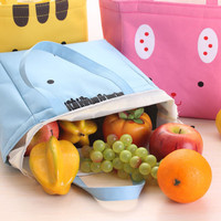 277 Lunch bag cooler bag Tas bekal Bonus jelly ice