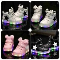 harga Sepatu Mickey Ministar Lampu Import Keren Tokopedia.com