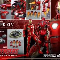 Jual Hot Toys 1/6 scale Iron Man Mark 45 Diecast BIB Murah
