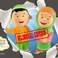 (NEW /BILLINGUAL ) HAFIZ DAN HAFIZAH TALKING DOLL
