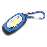 RImas Senter LED Mini 25 Lumens dengan Karabiner - Blue Biru