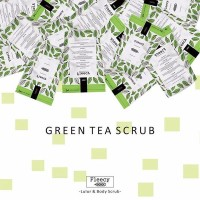Jual [ GREEN TEA ] FLEECY FACE & BODY SCRUB Murah