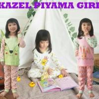 3 Setel Kazel Piyama Boy / Girl M 2-3thn Piyama Anak Baju Tidur Bayi
