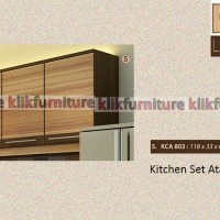 KCA 803 Sucitra Kitchen Set Minimalis Atas 3 Pintu