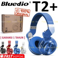 Jual Bluedio T2+ Headset Turbine Hurricane Stereo Bluetooth 4.1 Headphone Murah