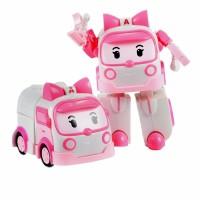 Jual Mainan Robocar Poli Karakter Amber Ambulance Transformer Mobil Robot Murah
