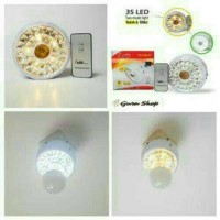 Jual Lampu Emegency Fitting Tengah Lampu+Remot XRB TG-635R 35 LED Termurah. Murah