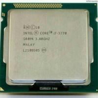 processor core i7 3770 tray+fan ori 1155