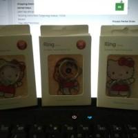 Jual i ring stand holder motif karakter hello Kitty Shinchan iring cincin Murah