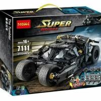 Jual LEGO Super Heroes Batman Tumbler Jumbo DC Comics - DECOOL 7111 Murah
