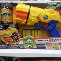Emco Original Mainan Pistol X-Shot Reflex Revolver Like Nerf