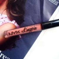 Jual NYX Lip Lingerie Liquid Lipstick Bed Time Flirt Murah