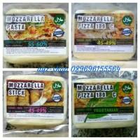 Jual Keju Mozzarella Pasta, Pizza, Stick, Pizza-Vegan 200gr Murah