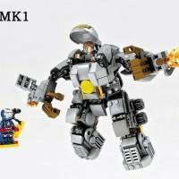 LEGO Iron Man MK 1 [Mark I] Armor Marvel - SY [Sheng Yuan]