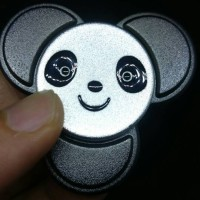 Jual Fidget Spinner kungfu Panda premium finishing Murah
