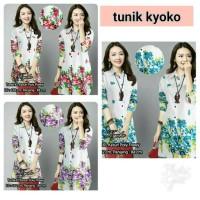 kyoko tunik flower ready best seller