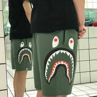 A BATHING APE BAPE SIDE FACE SHARK BEACH PANTS