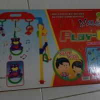 Jual play gym mainan bayi musik baby rattle murah Murah