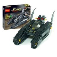 Super Heroes Batman The Bat Tank DC Comics - DECOOL 7108