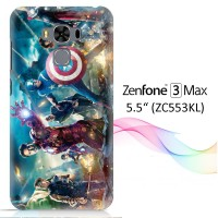 "Marvels The Avengers wallpaper X1281 Zenfone 3 Max 5,5"" Full Print 3D"