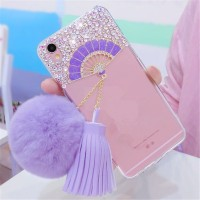 Vivo V5 Y67 kipas silicone soft case Silikon cover hp TPU FAN DIAMOND