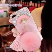 Samsung S8 / S8 PLUS Edge kipas silicone soft case hp TPU FAN DIAMOND