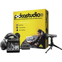 Behringer PODCASTUDIO Complete Bundle with USB/Audio Interface
