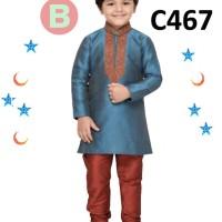 C467 FK Koko Tosca Set Pant Baju Muslim Anak Laki/Cowo Branded