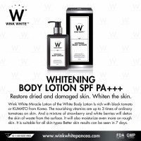 LOTION GLUTA WINK WHITE ORIGINAL IMPORT THAILAND