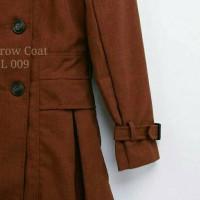 Jual Limited Stok - Sparrow Coat Smothies Moca - Coat Wanita - Coat Murah